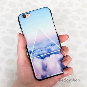 Triangle Clouds iPhone Case
